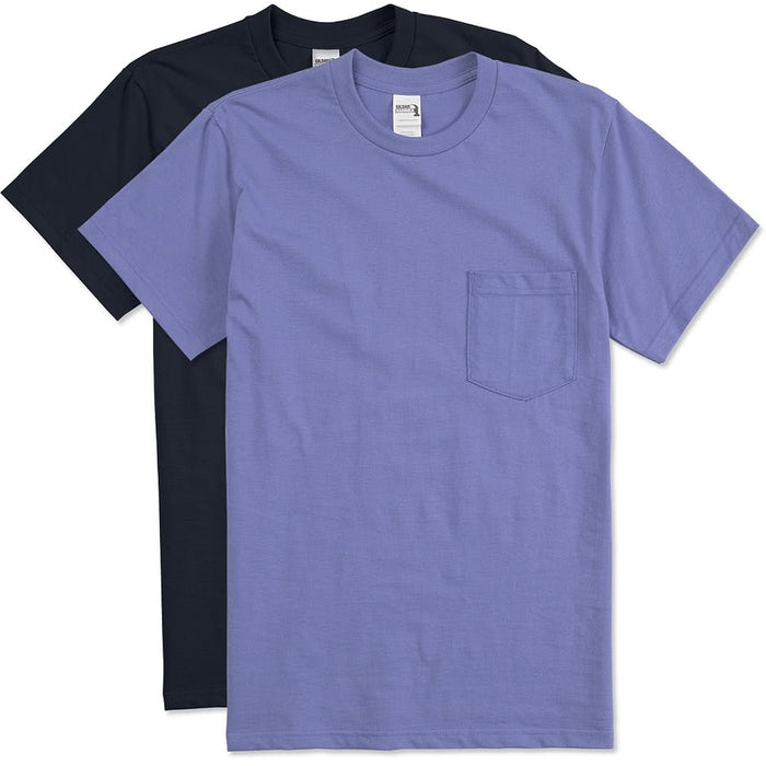 diversified latest designs hot-selling professional how to choose Gildan Hammer Pocket T-shirt