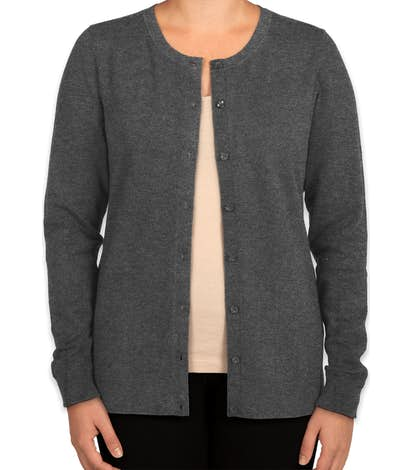 6cd17375207f7 Custom Cutter & Buck Womens Cardigan - Design Sweaters Online at ...