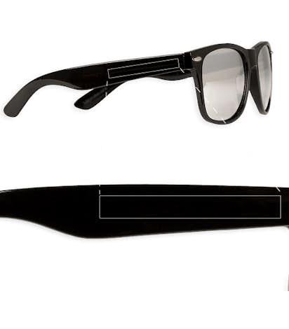 Mirrored Malibu Sunglasses - Silver Tint