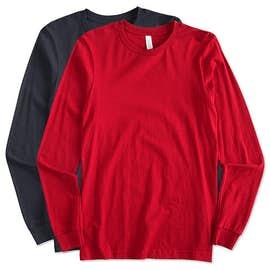 Canada - Bella + Canvas Long Sleeve Jersey T-shirt