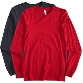 Canada - Bella + Canvas Long Sleeve Jersey T-shirt