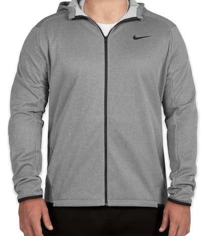 Nike Full Zip Sweatshirt - Grey