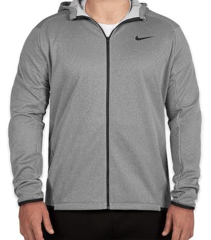 Nike Full Zip Sweatshirt - Grey
