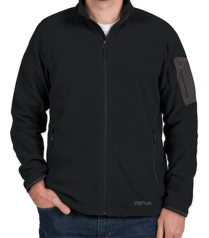 Marmot Reactor Full Zip Microfleece Jacket - Black