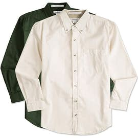 Featherlite Stain Resistant Twill Shirt