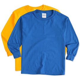 Canada - Gildan Youth 100% Cotton Long Sleeve T-shirt