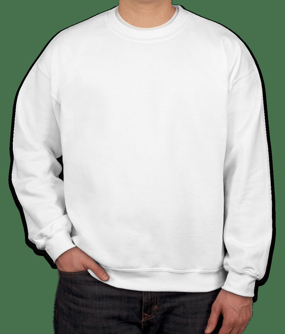 Design Custom Printed Gildan Lightweight Crewneck Sweatshirts Online