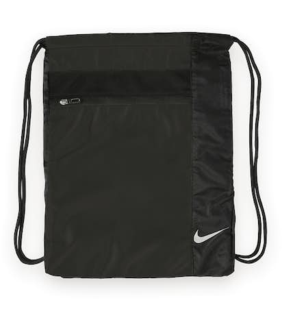 Nike Drawstring Bag - Black / Black