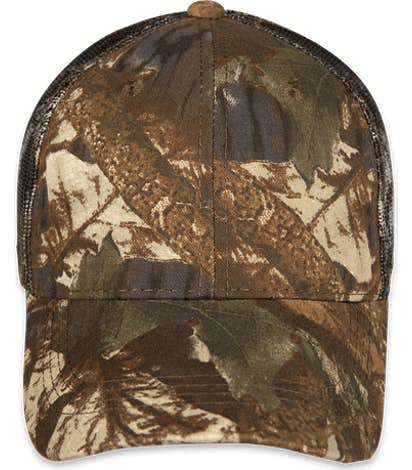 Outdoor Cap Camo Trucker Hat - Original Mossy Oak