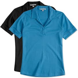 Port Authority Women's Silk Touch Interlock Jersey Polo