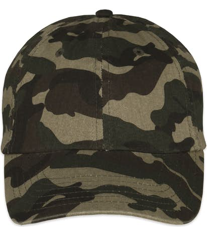 Custom Valucap Bio-Washed Camo Hat - Design Camo Hats Online at ... 099583dde59