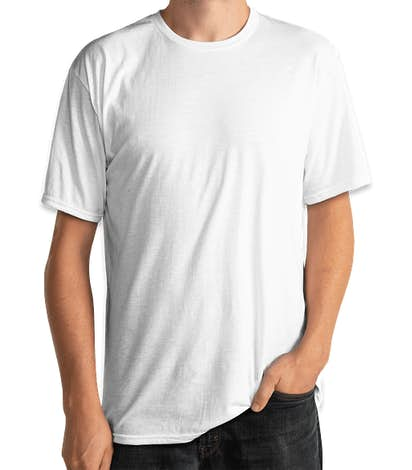 Delta Performance Blend T-shirt - White
