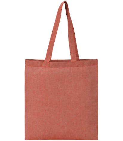 Recycled Cotton Twill Tote - Red