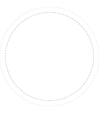 Full Color 3.5 in. Circle Roll Labels (500 per roll) - White