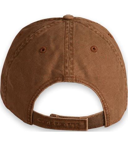 Custom Carhartt Odessa Washed Canvas Hat - Design Premium Hats ... 333001b86d16
