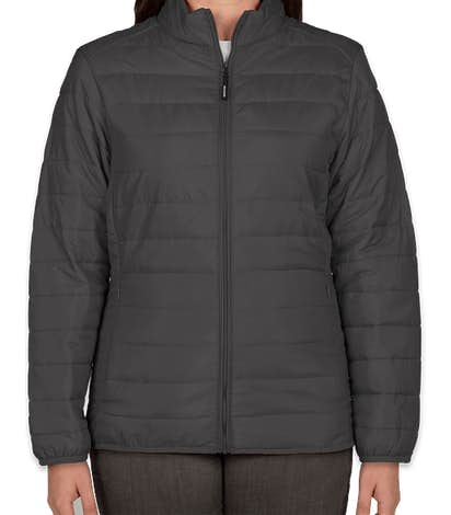 Core 365 Women's Insulated Packable Puffer Jacket - Carbon