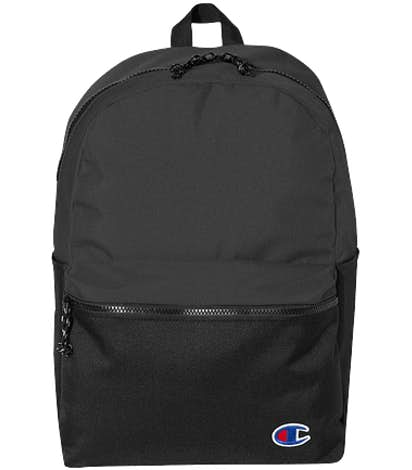 Champion Colorblock Backpack - Heather Black