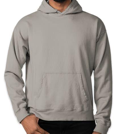 Hanes ComfortWash Garment Dyed Pullover Hoodie - Concrete Grey