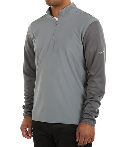 6730214ed1f9 Custom Nike Golf Dri-FIT Lightweight Quarter Zip Pullover - Design ...