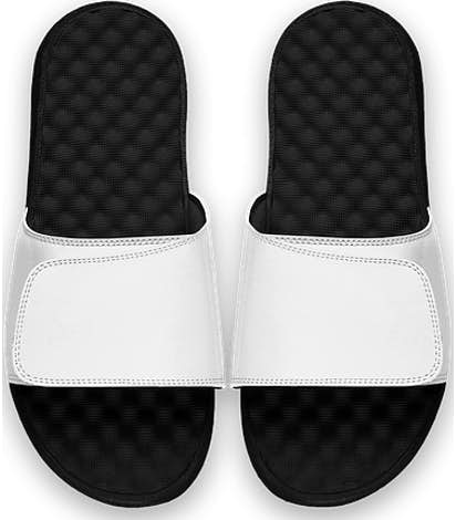 ISlide Youth Full Color Premium Slides - White / Black