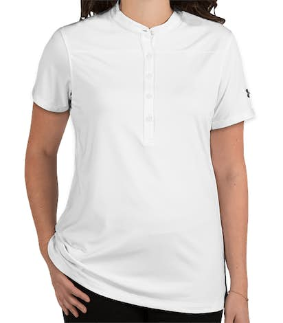 Under Armour Women's Performance Henley 2.0 - White