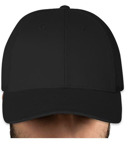 Canada - Richardson Stretch Fit Trucker Hat - Black / Black