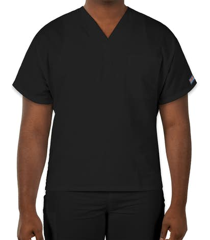 Cherokee Workwear Originals V-Neck Scrub Top - Black