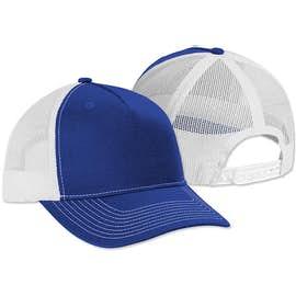 Port Authority Five-Panel Snapback Trucker Hat