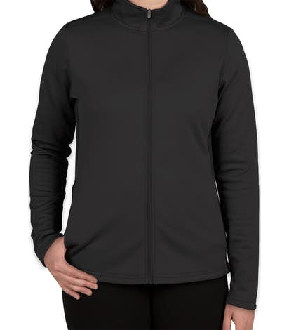 52ce128002f0 Custom Champion Women s Performance Full Zip Jacket - Design ...