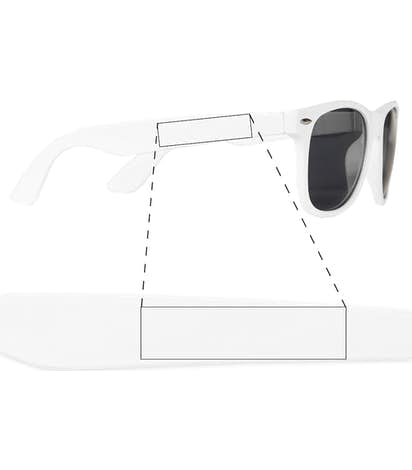 Sun Ray Sunglasses - White