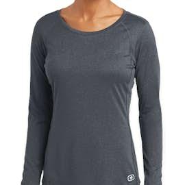 Ogio Women's Endurance Pulse Long Sleeve Performance Shirt - Color: Gear Grey