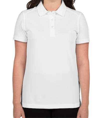 Cutter & Buck Women's Advantage Charged Cotton Polo - White