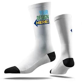 White Value Crew Socks