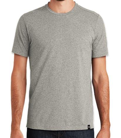 New Era Heritage Blend T-shirt - Rainstorm Grey Heather