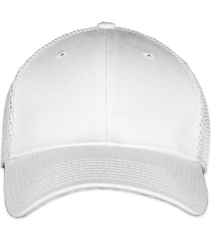New Era Stretch Fit Mesh Hat - White