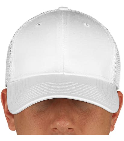 Canada - New Era 39THIRTY Stretch Fit Mesh Hat - White