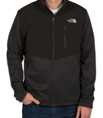 Custom The North Face Far North Fleece Jacket - Design Tech Fleece ... 86d10348e
