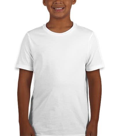 Next Level Youth Jersey T-shirt - White