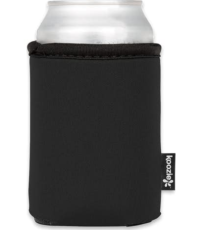 Contrast Foldable Can KOOZIE ® - Black