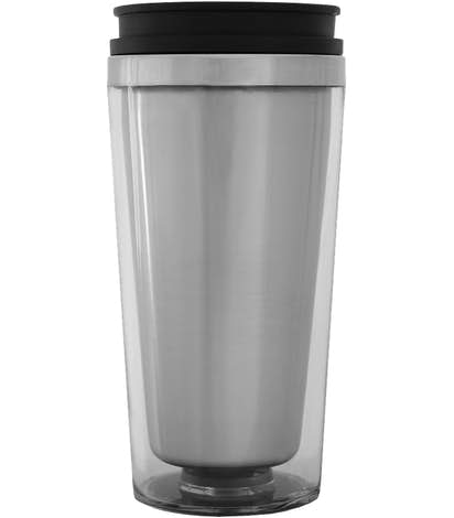 16 oz. Steel City Insulated Travel Mug - Clear