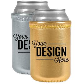 Metallic Neoprene Can Cooler