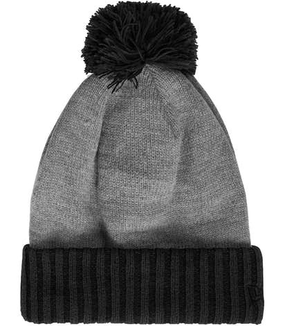 New Era Colorblock Cuffed Beanie - Black