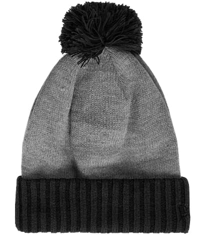 New Era Colorblock Cuff Beanie - Black