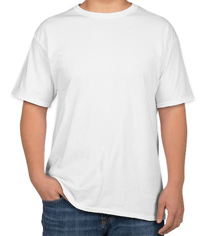 Hanes 100% Cotton T-shirt - White