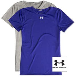 Under Armour Women's Locker Performance Shirt 2.0