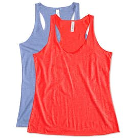 Canada - Bella + Canvas Women's Tri-Blend Racerback Tank