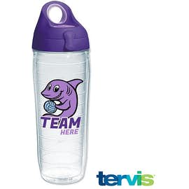 24 oz. Tervis Sports Bottle with Lid (Full Color Wrap Print)