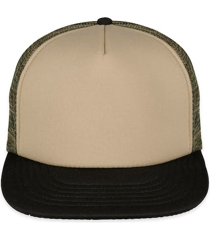 0d596f49a District Camo Flat Bill Snapback Hat