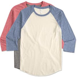 Threadfast Tri-Blend Baseball Raglan