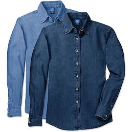 Port & Company Women's Denim Shirt